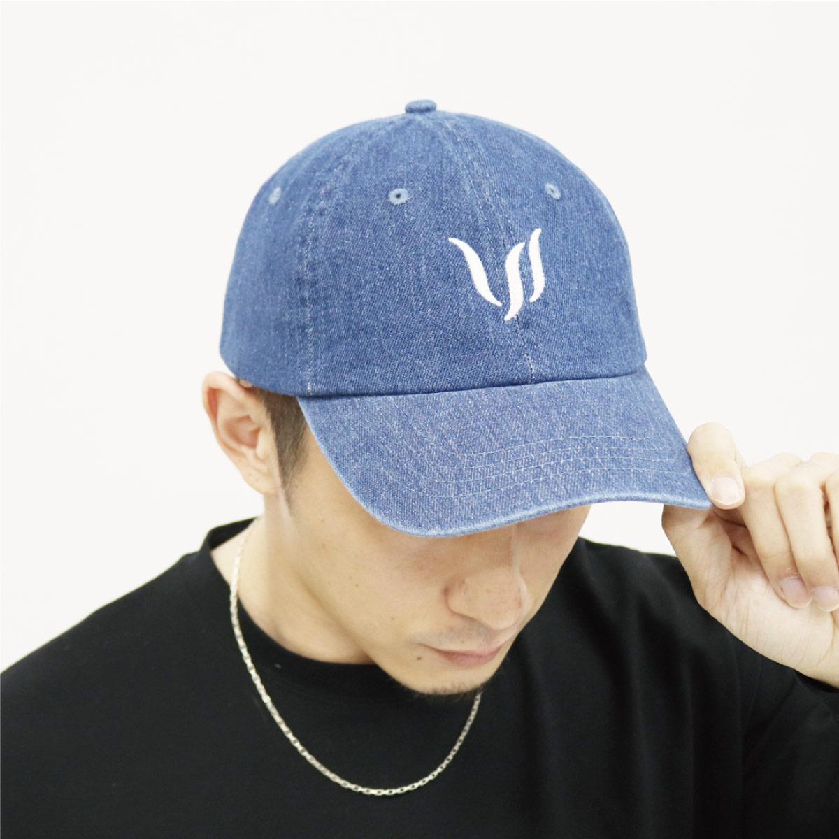 CAP - BLUE DENIM