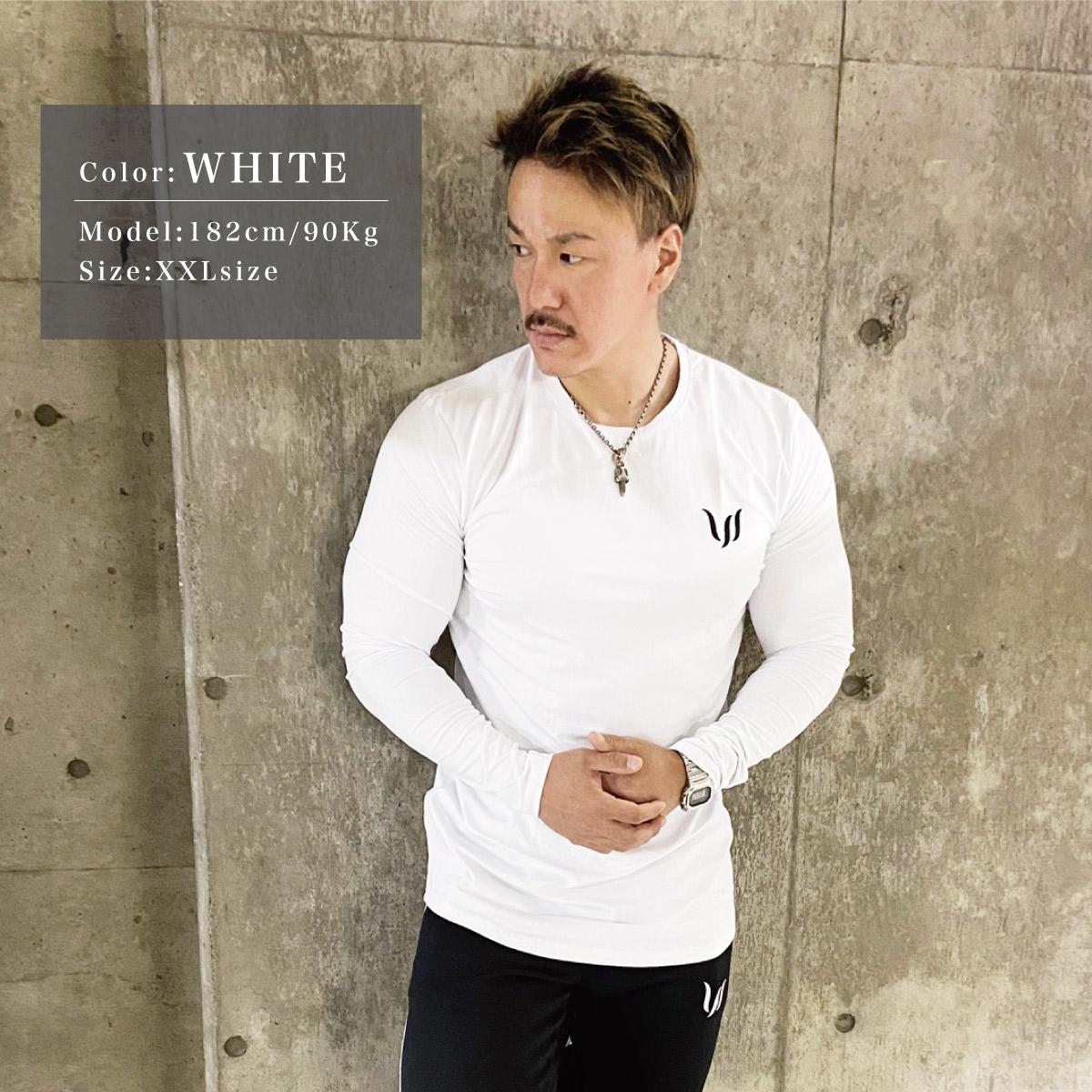 EMBROIDERY LONGSLEEVE - WHITE