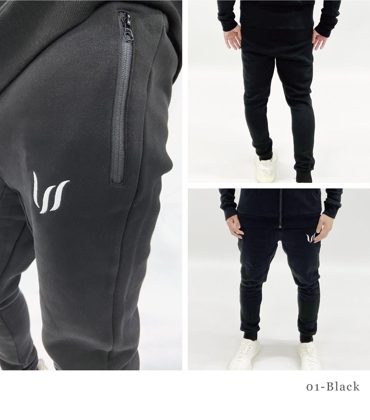 ESSENTIAL FLEECE PANTS - BLACK