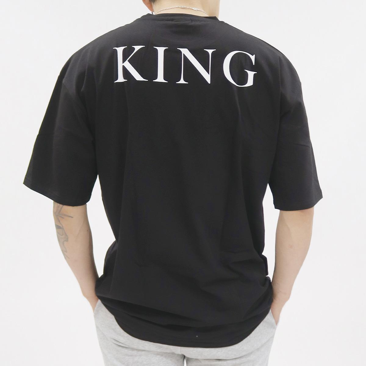OVERSIZE KING TEE - BLACK