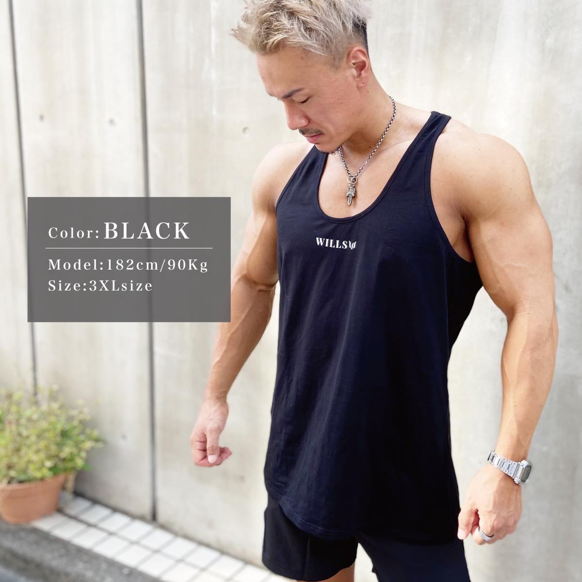 CORE TANK TOP - BLACK