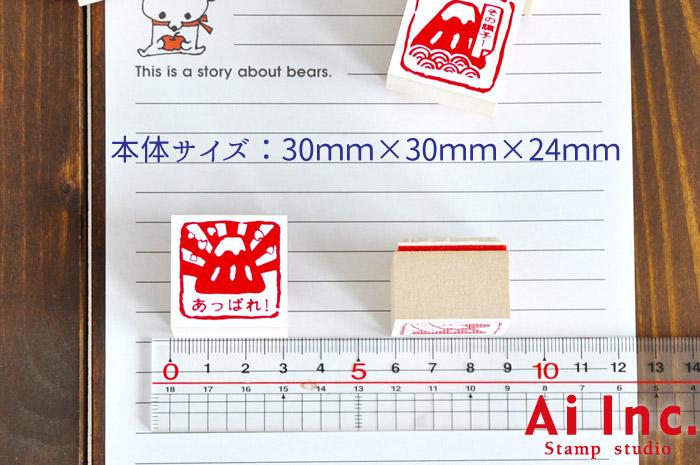 富士山評価印・先生スタンプ5個セット【あっぱれ! おみごと! その調子! がんばりました みました】