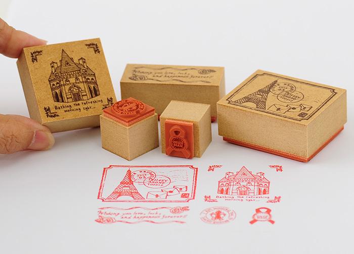 Merry Palette Stamp-かわいいスタンプ/楽しいハンコ 手作り雑貨【オリジナルスタンプ・アンティークスタンプ・かわいいスタンプ・はんこ・ハンコ・イド・布】