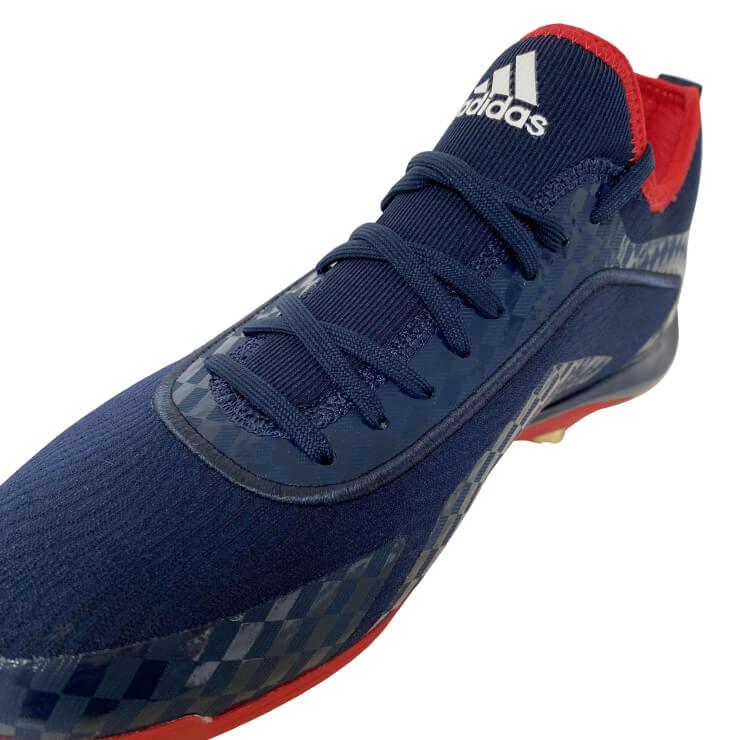 【2020モデル】アディダス 野球 限定 スパイク アディゼロ スタビル 5-Tool OLY FX0601 埋め込み金具 金具スパイク 樹脂底スパイク 金属スパイク 大人 一般 紐靴 ローカット レギュラーカット カラースパイク adidas あす楽