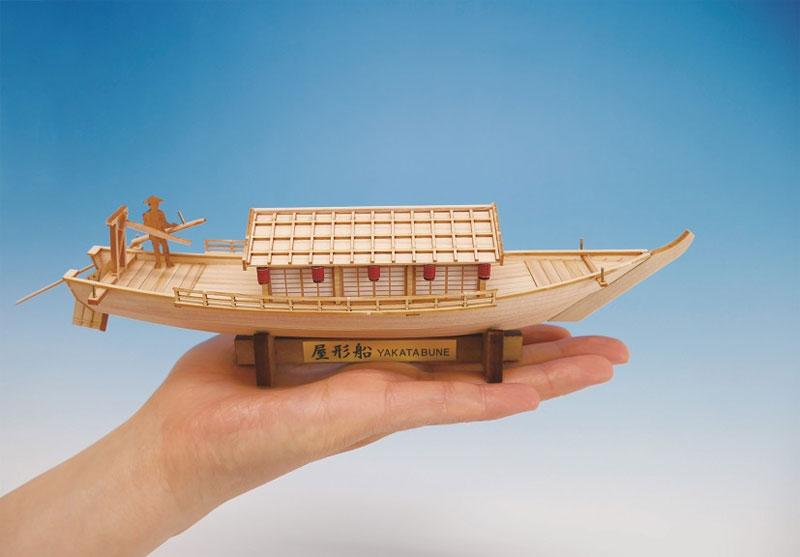 ウッディジョー ミニ和船シリーズ 屋形船