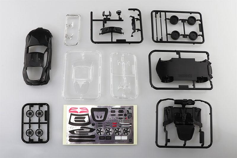 アオシマ プラモデル 1/32 ザ・スナップキット No.10-C トヨタ GR スープラ ブラックメタリック