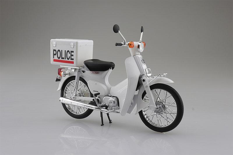 SKYNET 1/12 完成品バイク Honda スーパーカブ ポリス仕様