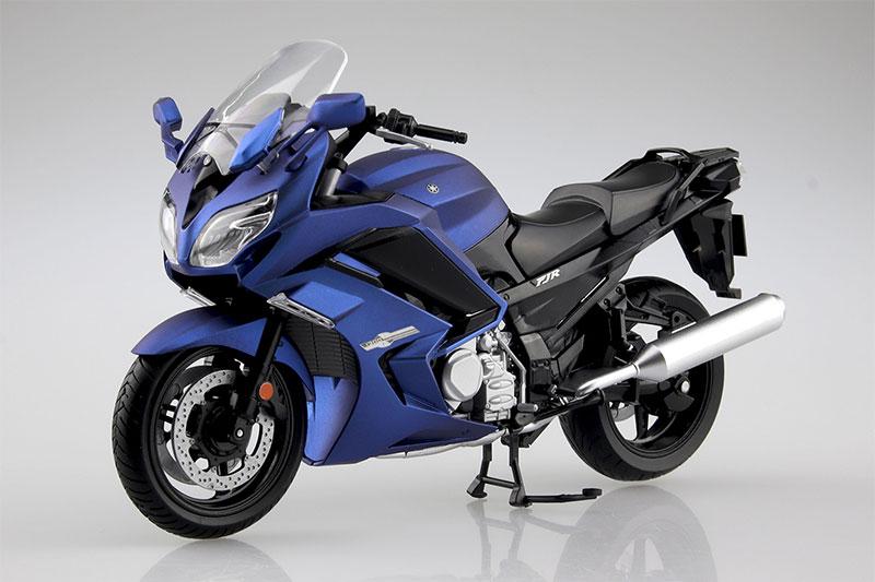 SKYNET 1/12 完成品バイク YAMAHA FJR1300A マッドダークパープリッシュブルーメタリック1