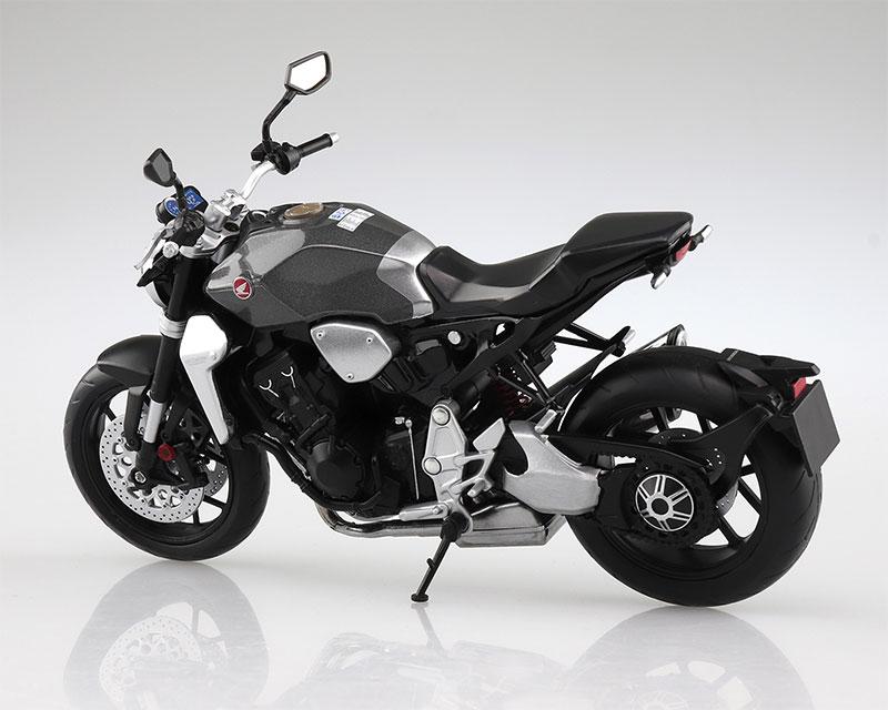 SKYNET 1/12 完成品バイク Honda CB1000R ソードシルバーメタリック
