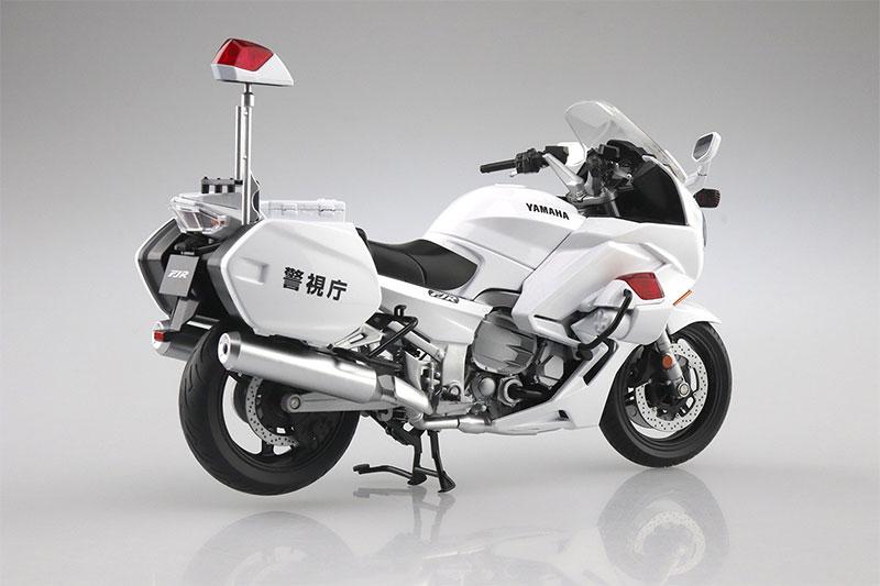 SKYNET 1/12 完成品バイク YAMAHA FJR1300P 白バイ 警視庁