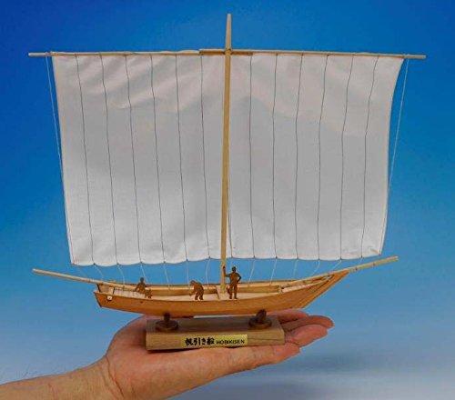 ウッディジョー ミニ和船シリーズ 帆引き船