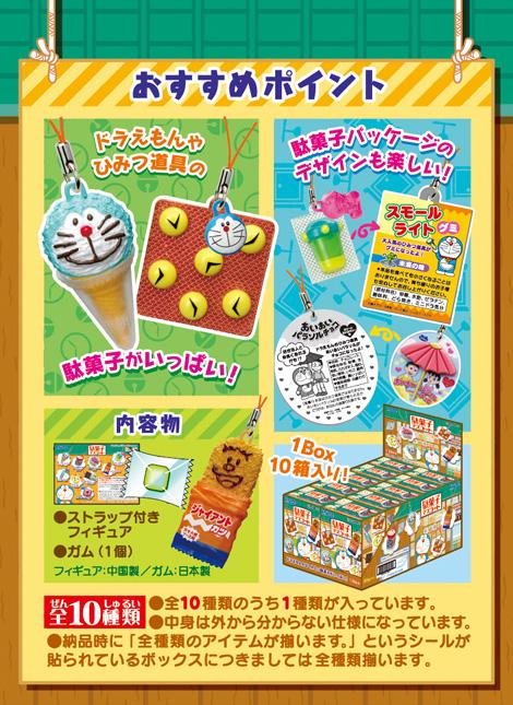 ドラえもん 駄菓子マスコット 10個入りBOX