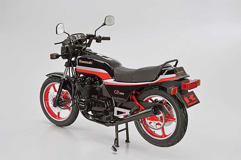 アオシマ プラモデル 1/12 ザ・バイク No.57 KZ400M Z400GP '82 カスタムパーツ付き