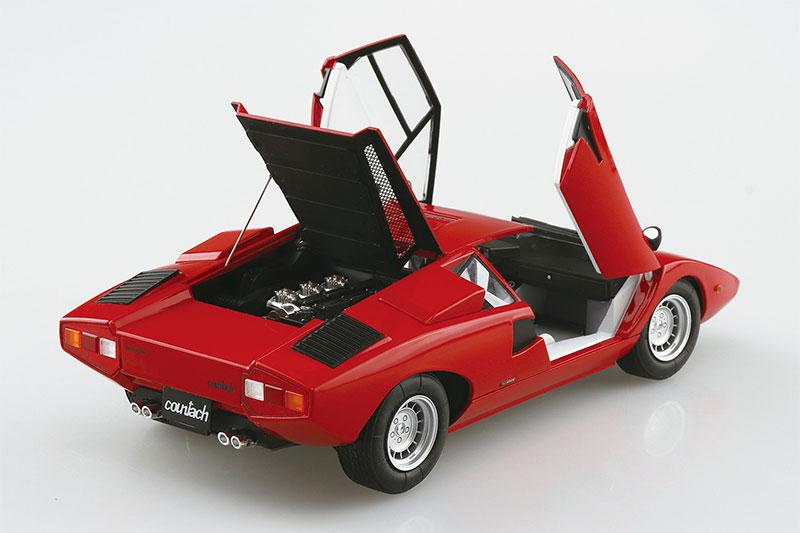 アオシマ 1/24 ザ・スーパーカー No.1 '74 ランボルギーニ カウンタック LP400