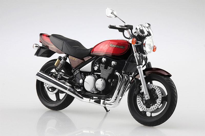 アオシマ プラモデル 1/12 バイク No.29 カワサキ ZEPHYRχファイナルエディション