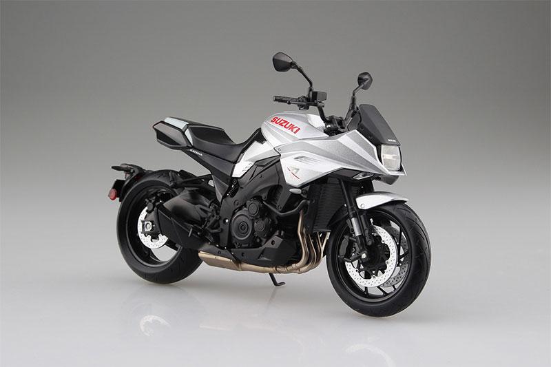 SKYNET 1/12 完成品バイク SUZUKI GSX-S1000S KATANA メタリックミスティックシルバー