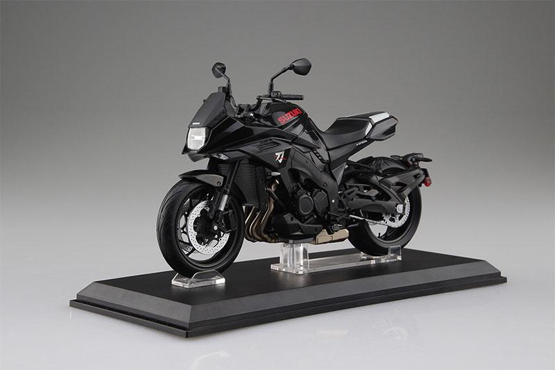 SKYNET 1/12 完成品バイク SUZUKI GSX-S1000S KATANA グラススパークルブラック