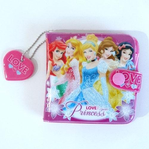 【ネコポス送料無料】 ディズニープリンセス ビニールウォレット LOVE PNC-9297
