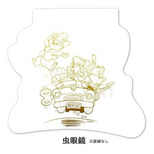 【ネコポス送料無料】 ディズニー チップ&デール ダイカットノート 虫眼鏡 【代引き不可、他商品との同梱不可】