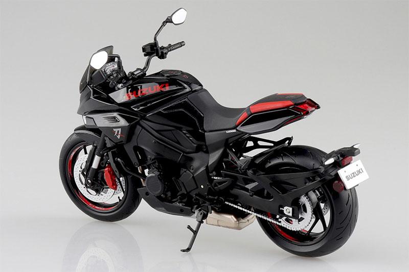 SKYNET 1/12 完成品バイク SUZUKI GSX-S1000S KATANA フルオプション グラススパークルブラック