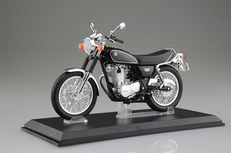 SKYNET 1/12 完成品バイク YAMAHA SR400 ヤマハブラック