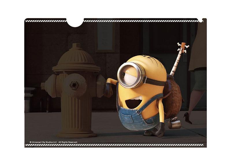 【ネコポス送料無料】 ミニオン ギミッククリアファイル スチュアート 【代引き不可、他商品との同梱不可】