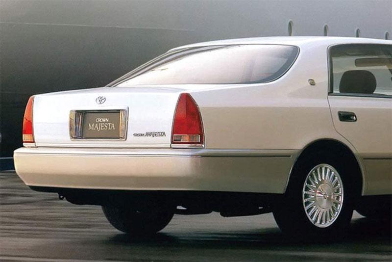 アオシマ プラモデル 1/24 ザ・モデルカー No.151 トヨタ UZS151 クラウンマジェスタ Cタイプ '98