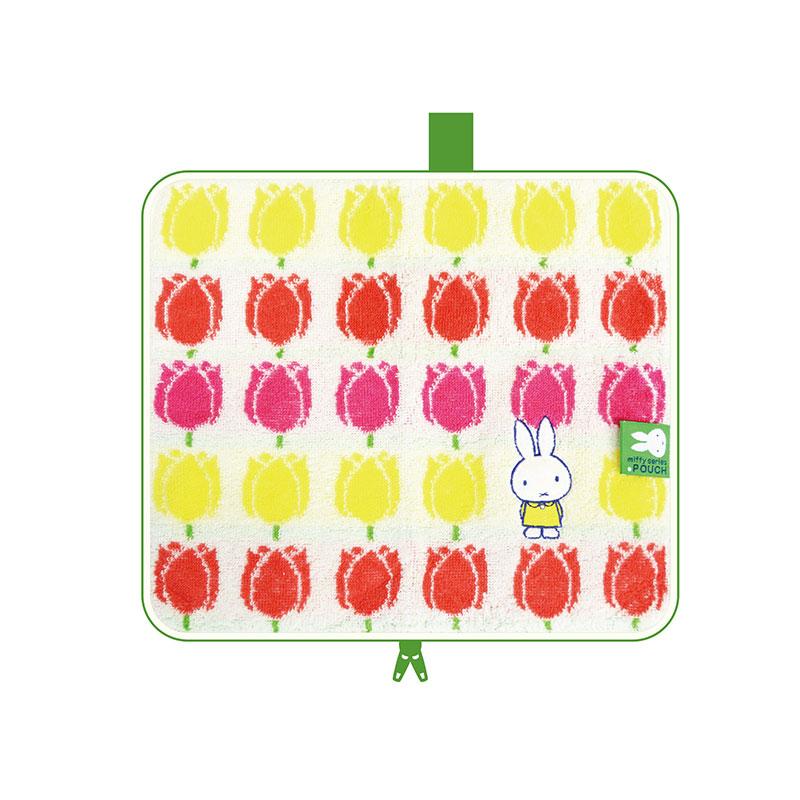 【ネコポス送料無料】 どっとポーチ ミッフィー キープスタンド miffy and tulips BA 【代引き不可、他商品との同梱不可】