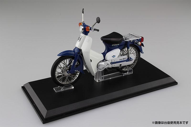 SKYNET 1/12 完成品バイク Honda スーパーカブ50 ブルー