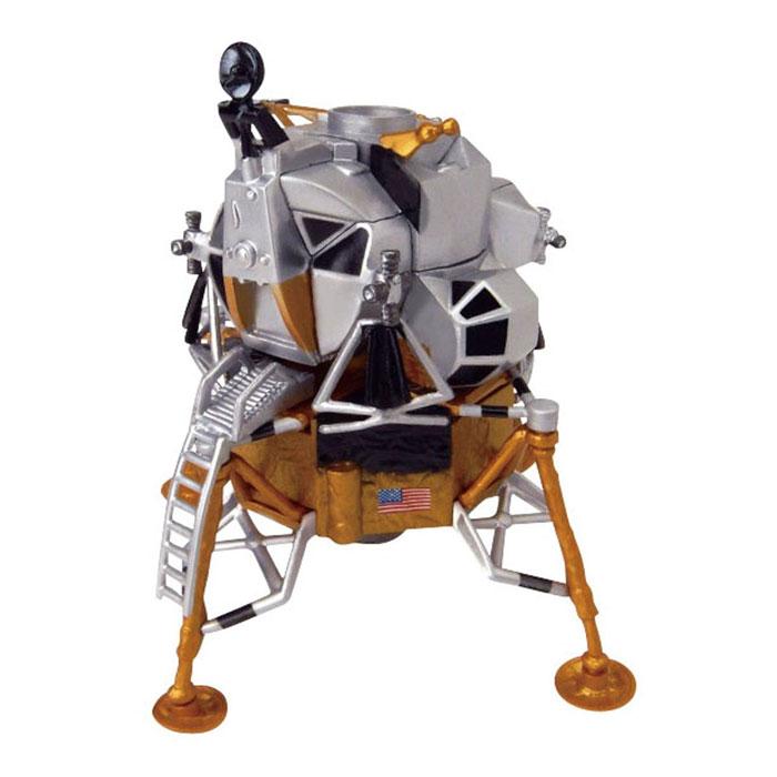アオシマ スカイネット 立体パズル 4Dパズル 1/100 アポロ月着陸船