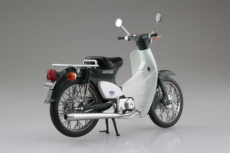 SKYNET 1/12 完成品バイク Honda スーパーカブ50 グリーン