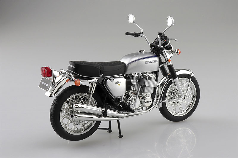 SKYNET 完成品バイク 1/12 Honda CB750FOUR K2 シルバー