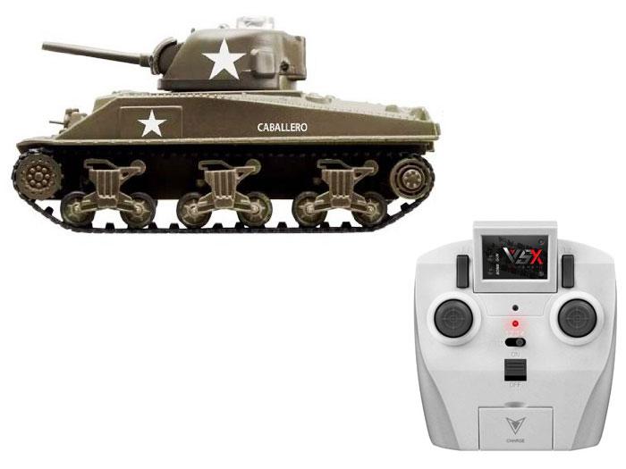 アオシマ プラモデル 1/72 赤外線対戦型R/C VSタンク M4シャーマン ID3 完成品