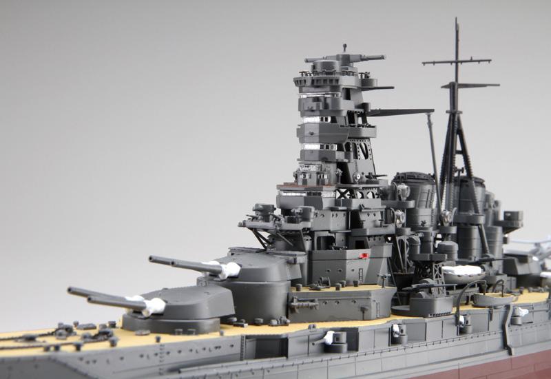 アオシマ プラモデル 1/350 アイアンクラッド 日本海軍 戦艦 霧島 リテイク