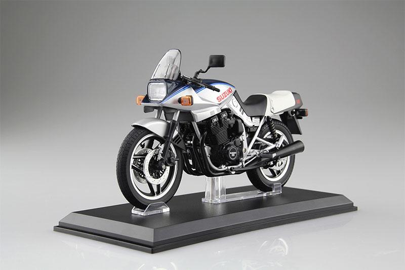 SKYNET 1/12 完成品バイク SUZUKI GSX1100S KATANA SD 青/銀
