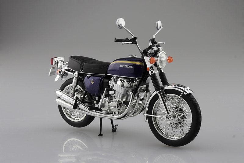 SKYNET 完成品バイク 1/12 Honda CB750FOUR K2 パープル