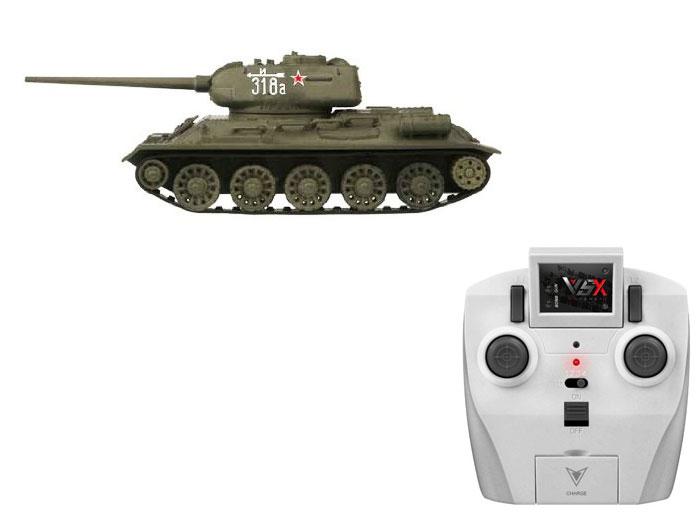 アオシマ プラモデル 1/72 赤外線対戦型R/C VSタンク T-34 ID3 完成品