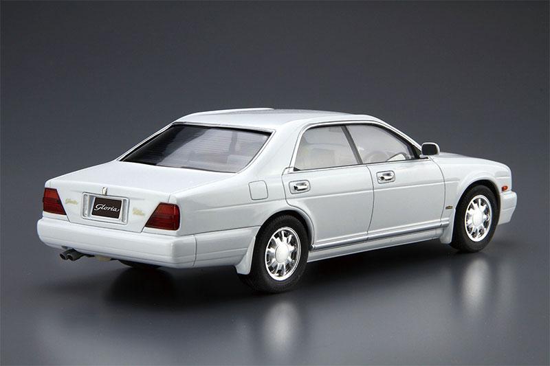 アオシマ プラモデル 1/24 ザ・モデルカー No.92 ニッサン Y32 セドリック/グロリア グランツーリスモアルティマ '92