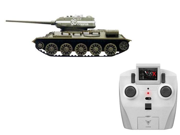 アオシマ プラモデル 1/72 赤外線対戦型R/C VSタンク T-34 ID4 完成品