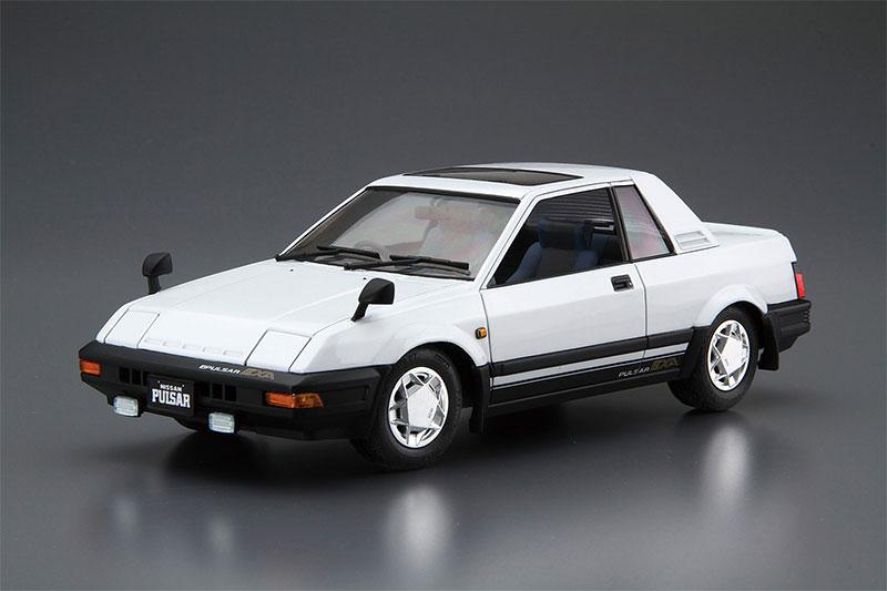 アオシマ プラモデル 1/24 ザ・モデルカー No.83 ニッサン HN12 パルサーEXA '83