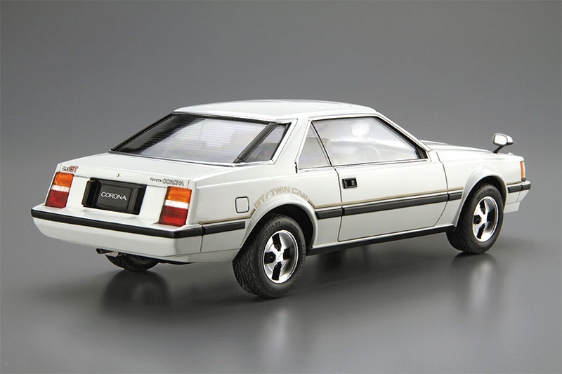 アオシマ プラモデル 1/24 ザ・モデルカー No.141 トヨタ RT141 コロナ ハードトップ2000GT '82