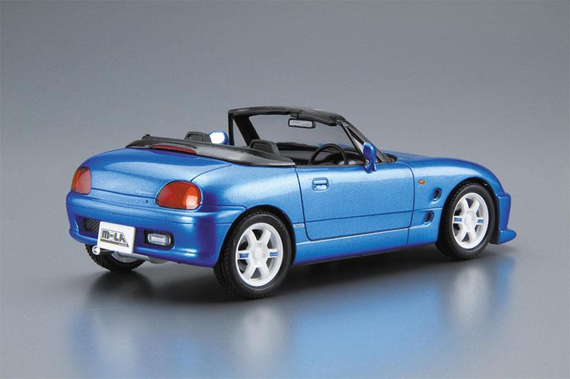 アオシマ プラモデル 1/24 ザ・チューンドカー No.37 モーラスポーツ EA11R カプチーノ '91 スズキ