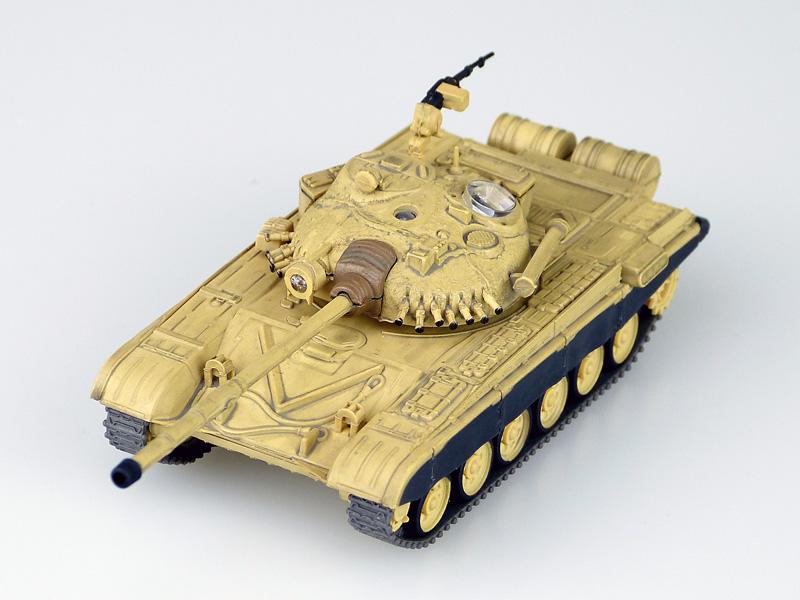 スカイネット 完成品ラジコン 1/72 R/C VSタンク T-72 B