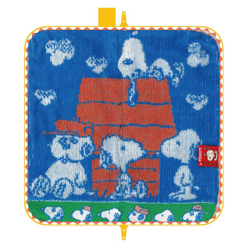 【ネコポス送料無料】 どっとポーチ スヌーピー ブラザーズ B ブルー 【代引き不可、他商品との同梱不可】