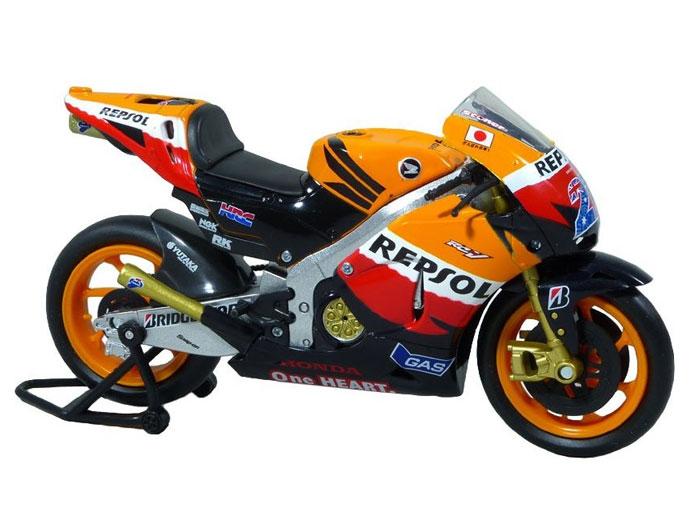 アオシマ プラモデル 1/12 完成品ダイキャストバイク 2011 Repsol Honda Team RC212V CASEY STONER No.27