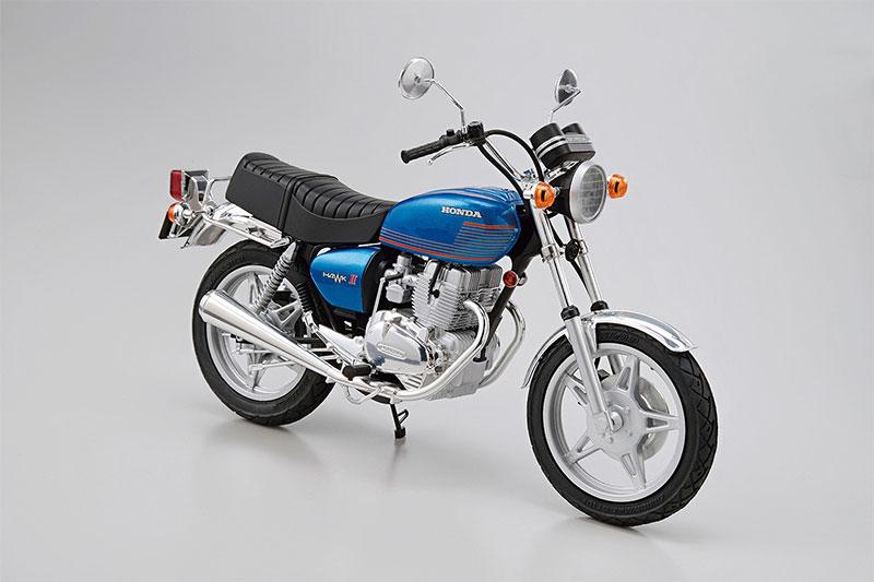 アオシマ プラモデル 1/12 ザ・バイク No.15 ホンダ CB400T HAWK-II '77