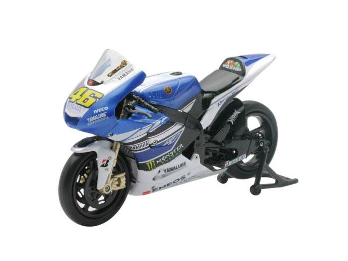アオシマ プラモデル 1/12 完成品ダイキャストバイク 2013 YAMAHA FACTORY RACING TEAM YZR-M1 VALENTINO ROSSI No.46