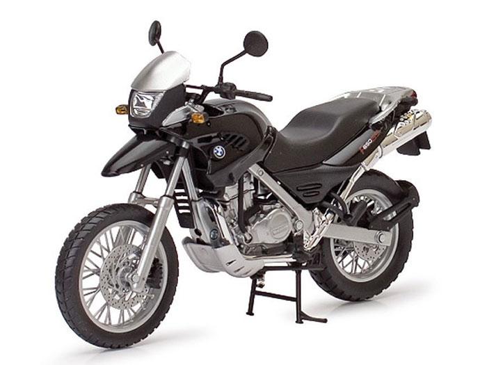 アオシマ プラモデル 1/12 完成品ダイキャストバイク BMW F650GS ブラック