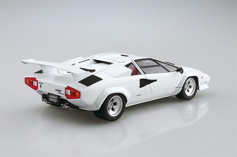 アオシマ 1/24 ザ・スーパーカー No.9 '85 ランボルギーニ カウンタック 5000QV