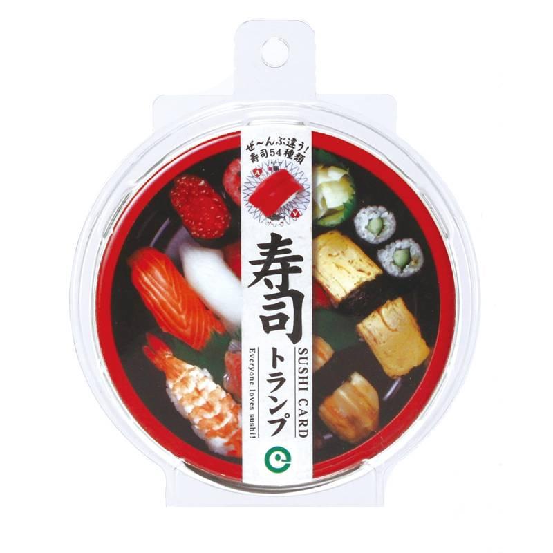 【ネコポス送料無料】 寿司トランプ 【代引き不可、他商品との同梱不可】